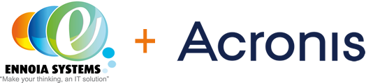 Ennoia  Systems Partner Acronis logo
